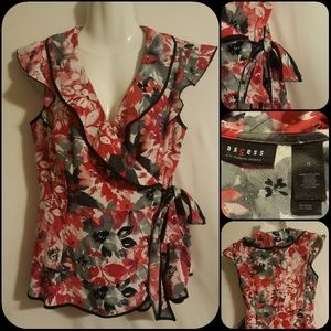 Access Floral Blouse